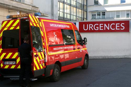 Accueil des Sapeurs Pompiers de Paris à l'hôpital privée d'Antony